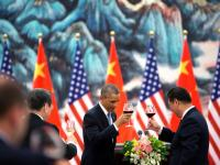 Xi-Obama greeting